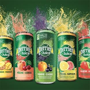 Test Perrier & Juice : 6'000 packs gratuits avec Croquons la Vie