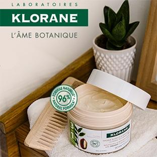 Test Klorane : masque 3en1 au beurre de Cupuaçu Bio offerts