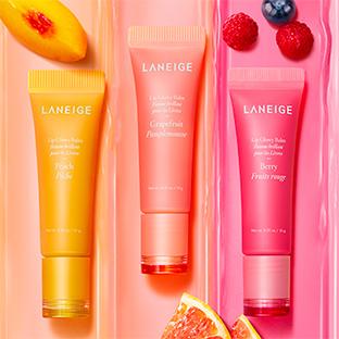 Test Sampleo : Baumes brillants pour les lèvres Laneige gratuits