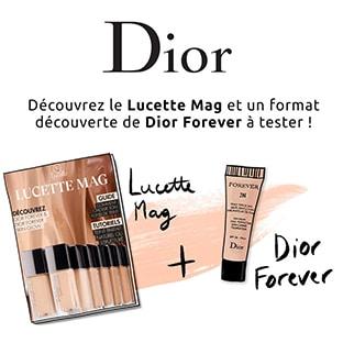 Test Lucette : Échantillons Dior Forever et magazine gratuits
