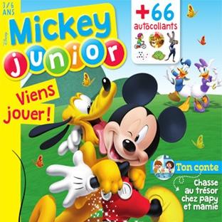 Abonnement Mickey Junior pas cher à 25€ (soit -45%)