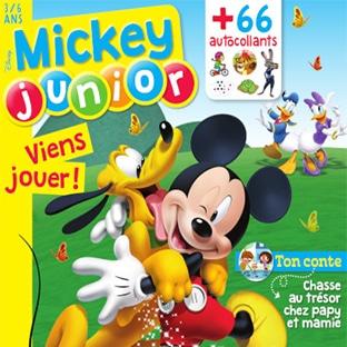 Abonnement Mickey Junior pas cher à 25€ (soit -58%)
