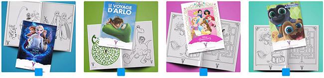 Imprimez gratuitement les livrets d'activité Disney pour vos enfants