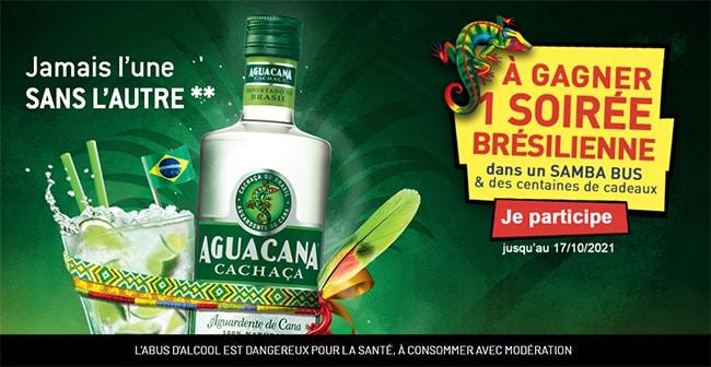 Les cadeaux à remporter au jeu Aguacana.fr