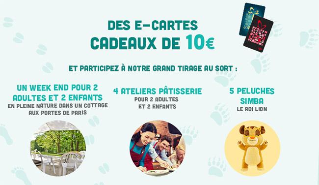 Tentez de gagner l'un des cadeau au jeu Disney de Carrefour