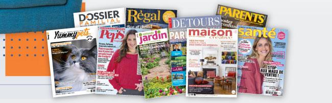 Tentez de remporter des magazines digitaux avec Parents