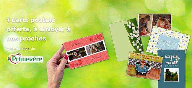 ENvoyer gratuitement une carte personnalisée