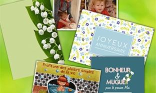Bon plan Primevère : Carte postale personnalisable gratuite