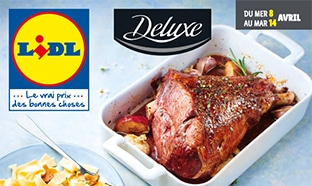 Catalogue Lidl « Deluxe » du mercredi 8 au mars 14 avril 2020