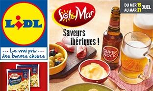 Catalogue Lidl «Sol & Mar» du mardi 15 au 21 juillet 2020