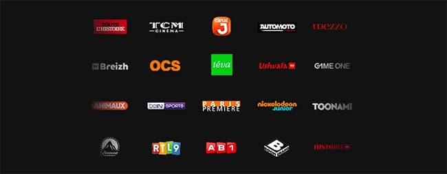 60 chaînes TV supplémentaires offertes sur la box TV d'Orange