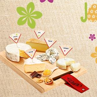 Jeu Lepetit : coffret Plateau & fromages à gagner