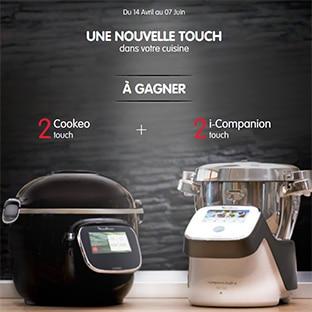 Jeu Moulinex : Cookeo Touch et i-Companion à gagner