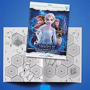 Bon plan Disney : Jeu de société La Reine des Neiges gratuits