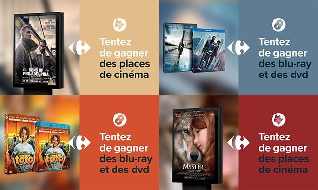 Jeux Carrefour Savoirs 700 Places De Cinema 100 Blu Ray