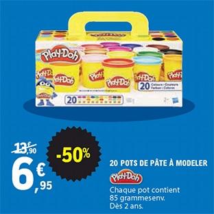 Promo Leclerc : Pâte à modelez Play-Doh pas cher