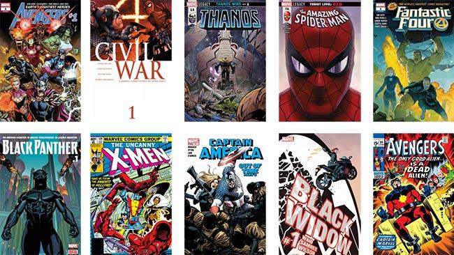comics Marvel en téléchargement gratuit