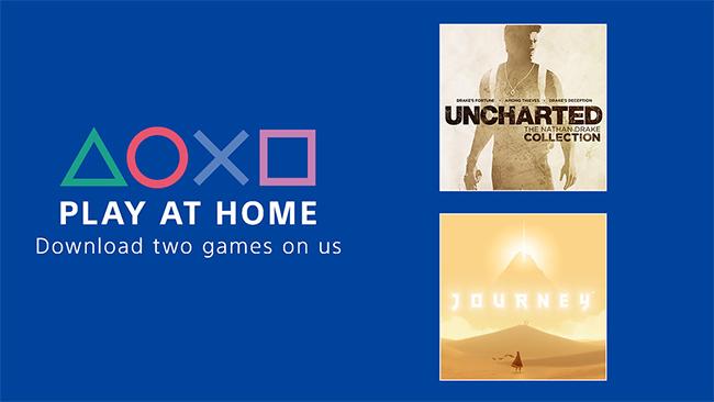 Opération Play At Home pour télécharger gratuitement des jeux sur PS4