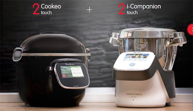 TEntez de gagner un Cookeo Touch ou un i-Companion Touche avec Moulinex