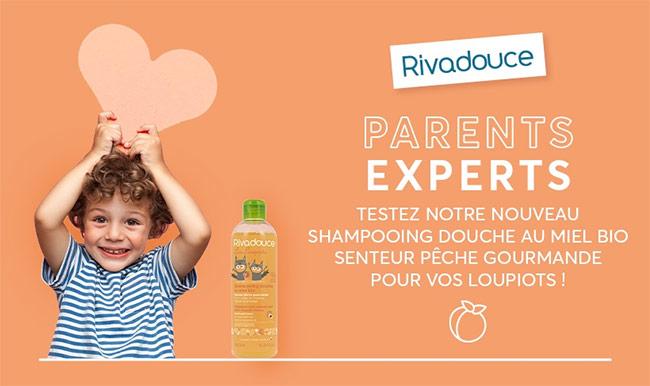 Tentez de tester gratuitement le shampooing douche 2en1 Loupiots
