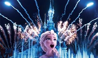 Vidéo : Spectacle nocturne de Disneyland Paris en ligne