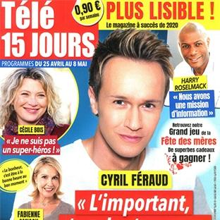 Ephad : Magazine Télé15jours gratuit