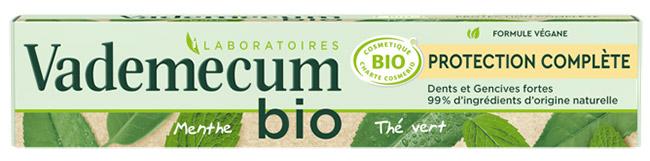 testez le dentifrice Bio Protection Complète Vademecum