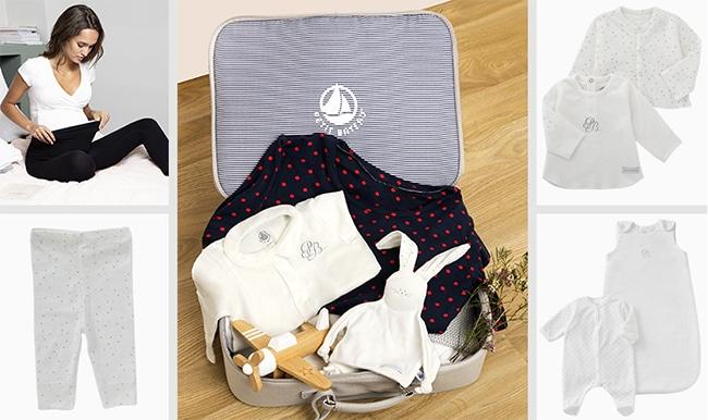 valises maternité Petit Bateau et Envie de Fraise à gagner