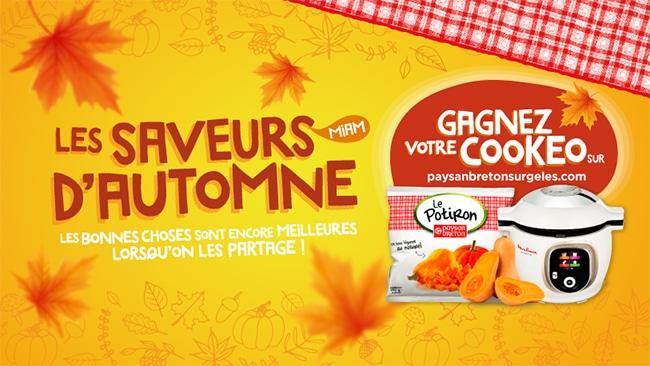 Tentez de gagner un Cookeo Moulinex avec Paysan Breton