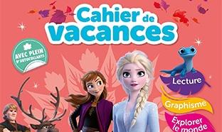 Cahiers de vacances la Reine des Neiges pas chers su Amazon