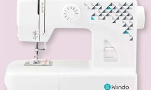 Promo Carrefour : Machine à coudre Klindo pas chère
