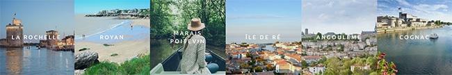 Recevez 100€ pour un séjour et Charente