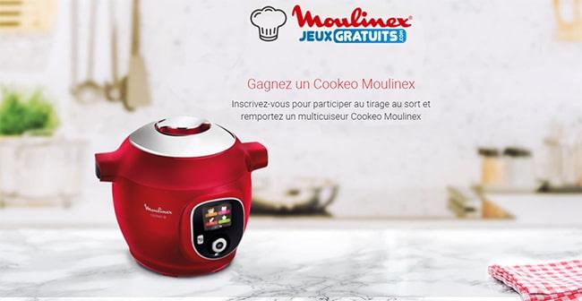 Tentez de gagner un Cookeo Moulinex avec Figaro