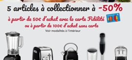 Carrefour : articles KitchenAid à -50% (offre collector sans vignette)