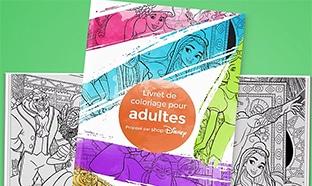 Livret gratuit de coloriage mandala Disney pour adultes à imprimer