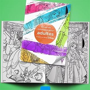 Livret De Coloriage Disney Pour Adultes Gratuit A Imprimer
