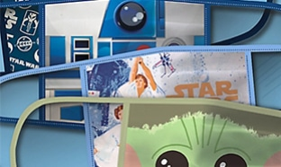 Masques Disney : star wars, princesses, Mickey...