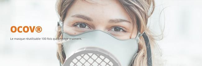Masque réutilisable Ocov de Michelin