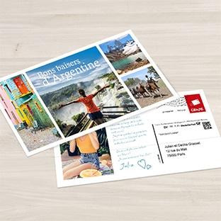 Carte postale personnalisable gratuite Photomoinscher