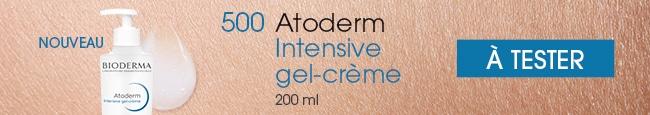 testez le gel-crème Intensive Atoderm de Bioderma
