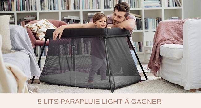 5 lits parapluies Light BabyBjörn à gagner