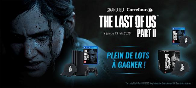 les cadeaux The Last of Us 2 PS4 à gagner