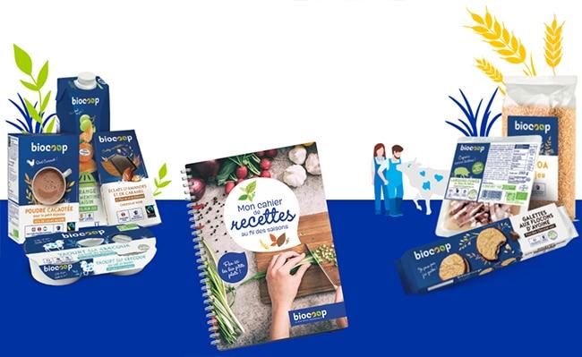 Tentez de remporter votre livre de recettes personnalisé Biocoop