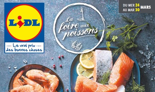 Catalogue Lidl La Foire aux poissons mars 2021