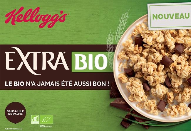 Testez gratuitement les nouvelles recettes Extra Bio de kellogg's avec Sampleo
