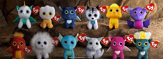 peluches phosphorescentes Ty avec les Happy Meal