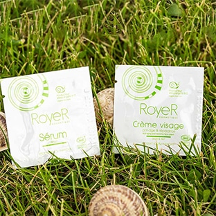 Échantillons gratuits de sérum et crème RoyeR Cosmétique