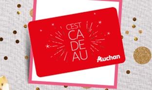 Jeu Auchan traiteur : 200 cartes cadeaux de 50€ à gagner