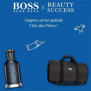 Jeu Beauty Succès : cadeaux Hugo Boss à gagner