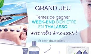 Jeu Eau Thermale Jonzac : week-end Thalasso et soins à gagner